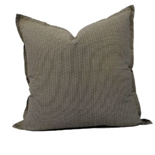 Black Basket Weave Feather Inner Scatter Cushion