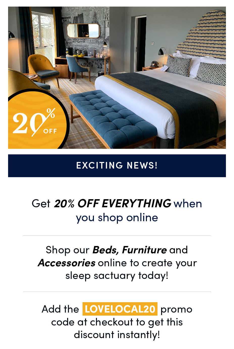Bed Studio Love Local Discount