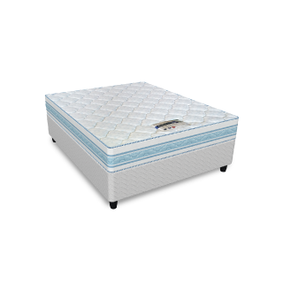 Cloud Nine Blue 50th – Single Mattress & Base