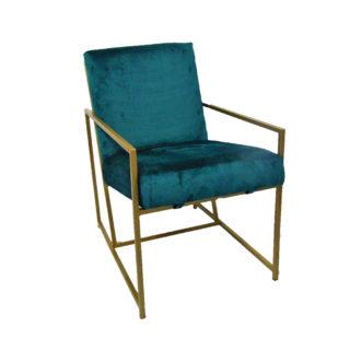 Bespoke Emerald Occasional Chair