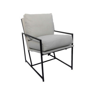 Bespoke Greyscale Occasional Chair